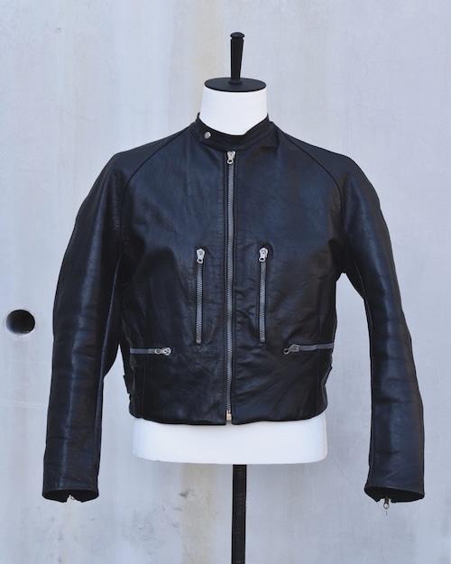 <SOLD OUT>Vintage - Cafe Racer Leather Jacket 1960's