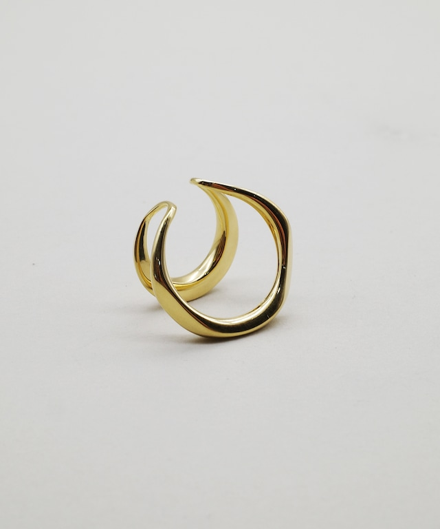 【blanc iris/ ブランイリス】Volute collection Vermeil Ear Cuff /イヤーカフ