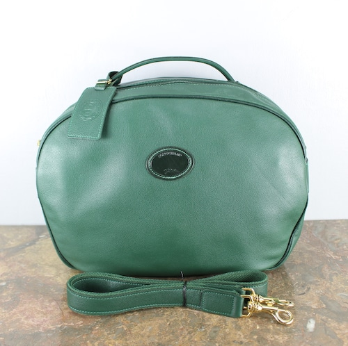 LONGCHAMP LEATHER 2WAY SHOULDER BAG MADE IN FRANCE/ロンシャンレザー2wayショルダーバッグ