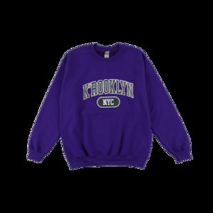 K'rooklyn College Sweat -Purple-