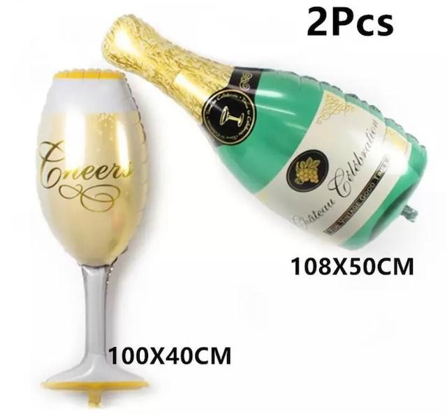 乾杯バルーン結婚記念日 ママの誕生日2set