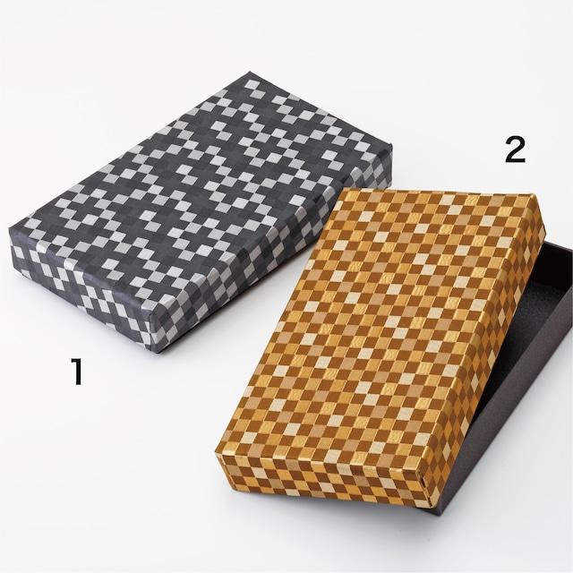 金襴緞子の手紙箱  Letter box