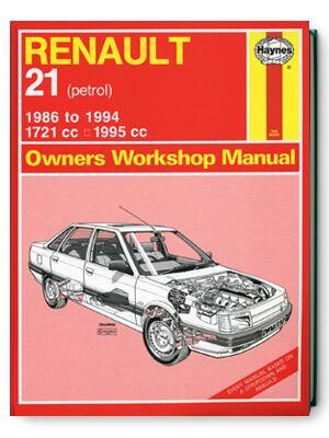 ルノー21・1986-1994・オーナーズ・ワークショップ・マニュアル