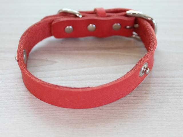 """WanDelen"" Dog Necklace (本体 red)"