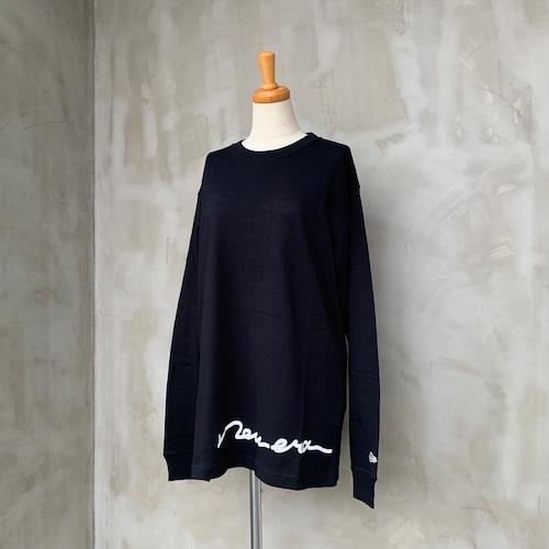 NEW ERA/HAND WRITEロゴロングTシャツ