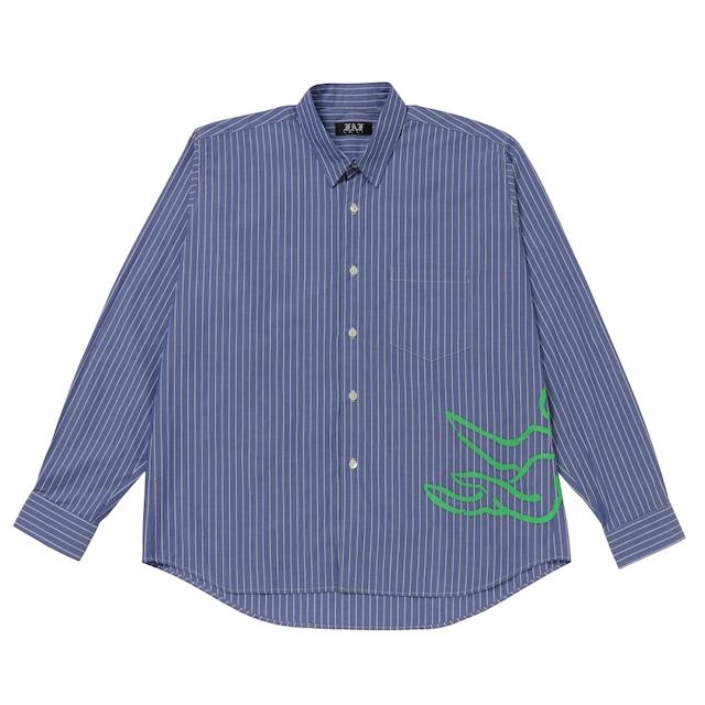 Stripe shirts / Blue - メイン画像