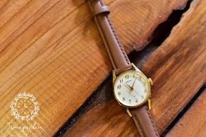 初めての手巻きシリーズ♪【ビンテージ時計】1978年11月製造 秒針付きの手巻き式腕時計 日本製