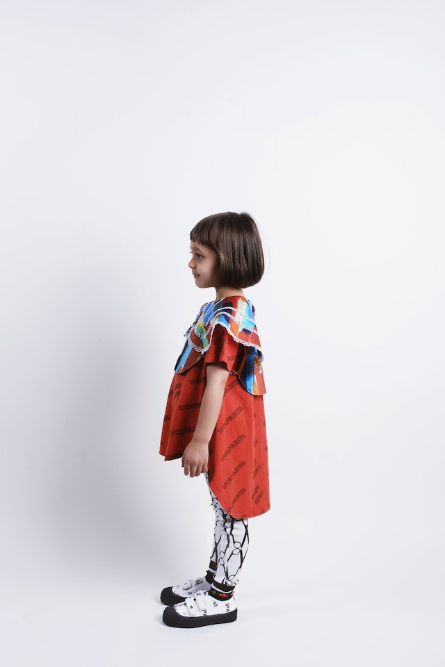 ウルフアンドリタ(WOLF&RITA)-LUANA RUDY RUBY RED[2y/4y/6y/8y]Tシャツ