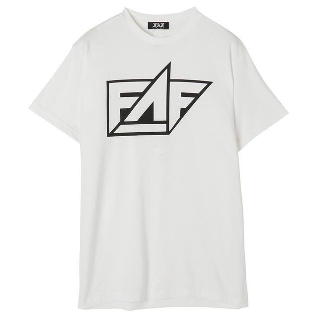 FAF Logo Tee - White - メイン画像