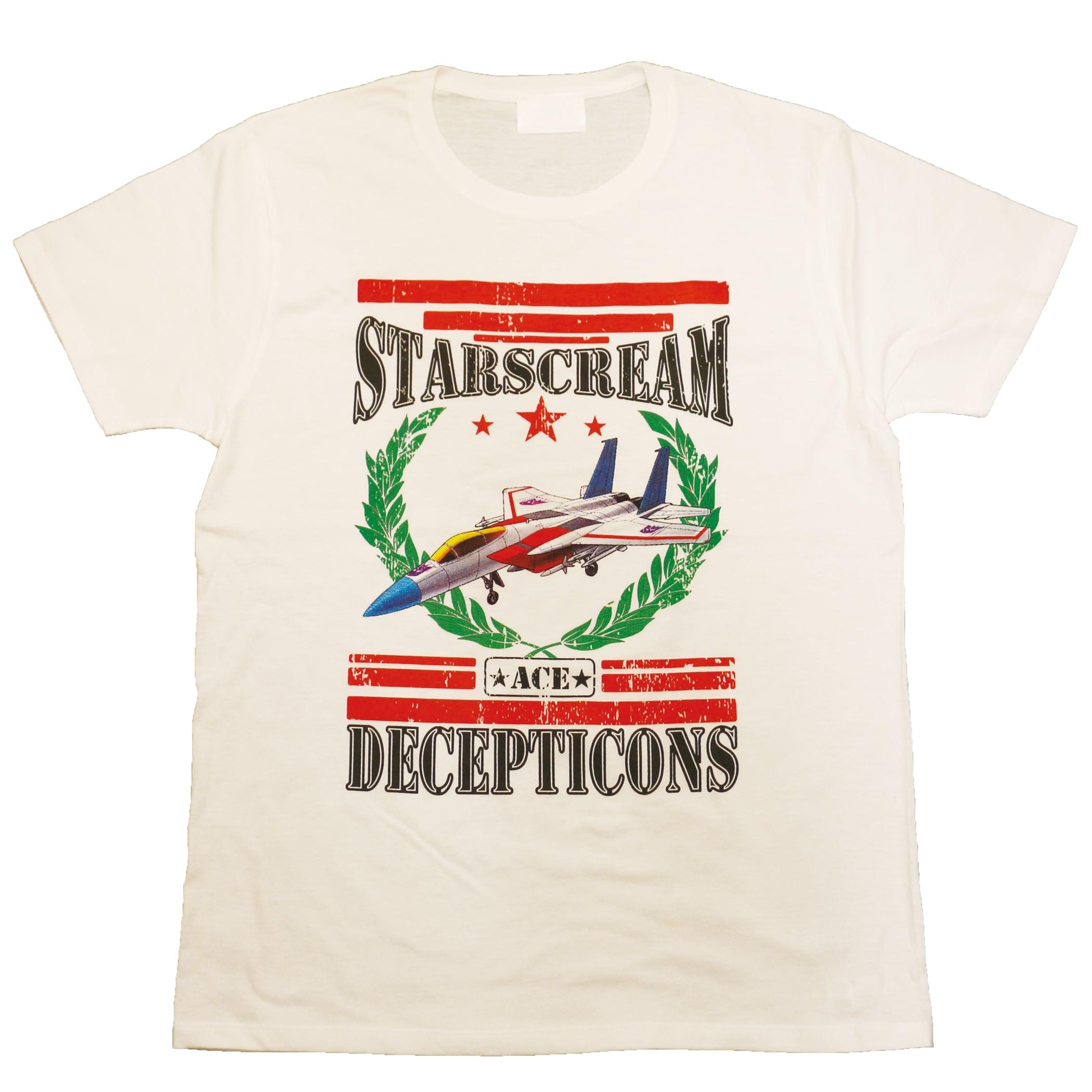 【トランスフォーマー】戦え!超ロボット生命体トランスフォーマー スタースクリームジェットモード Tシャツ(再販版)