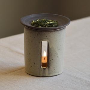 【SALIU】茶香炉 さのか 粉引き