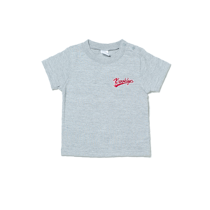 Kid's Logo T-Shirt - Gray (90cm)