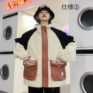 【アウター】切り替えストリート系ファッションジャケット43007103