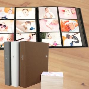 セラピーカラー 大容量 L判480枚収納 6面ポケットアルバム TCPK-6L-480