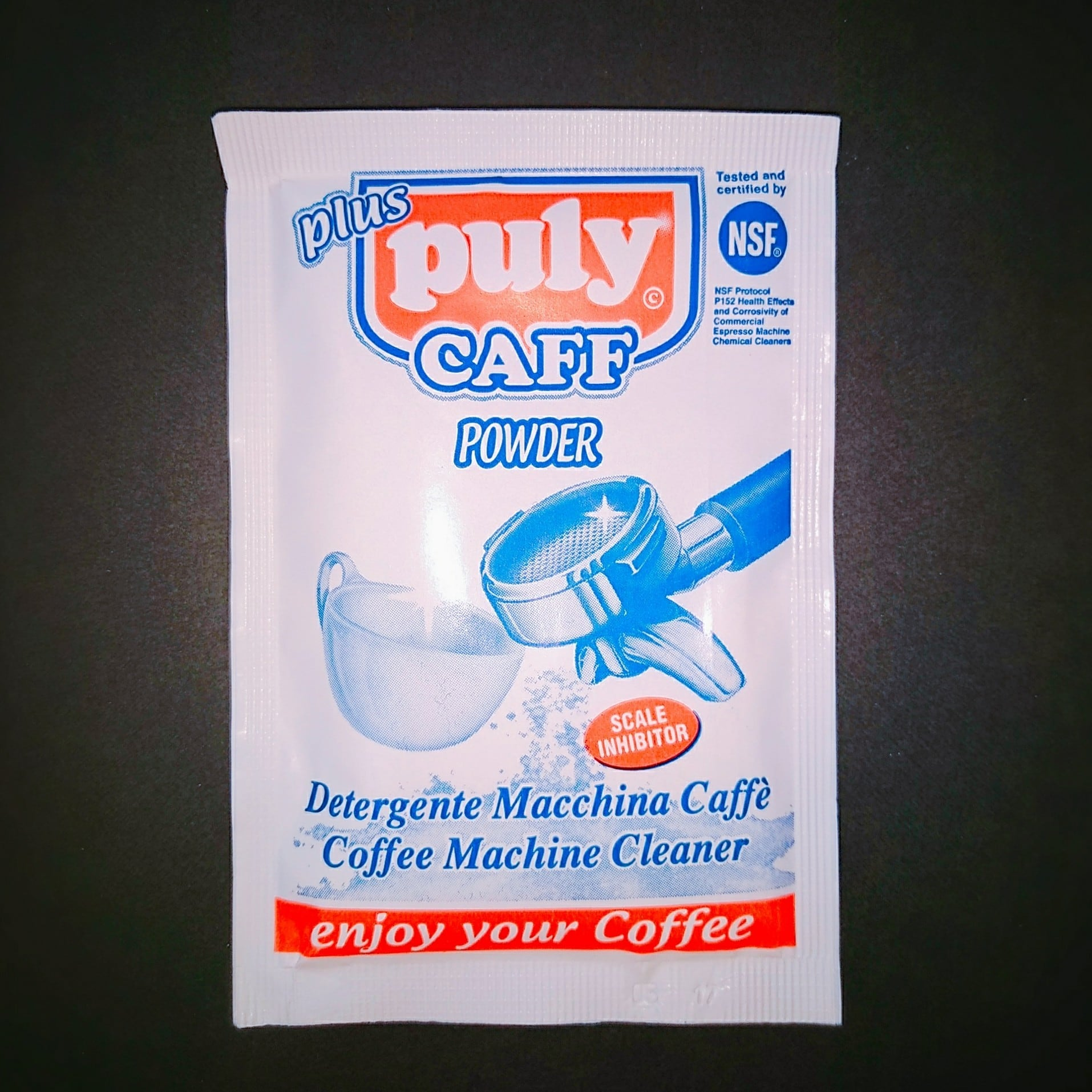 Puly CAFF POWDER コーヒーマシンクリーナー 1袋