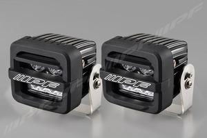 【flexdreamセット】IPF 600シリーズ 2インチCUBE ドライビングランプ&オリジナルシリコンガード2個付き