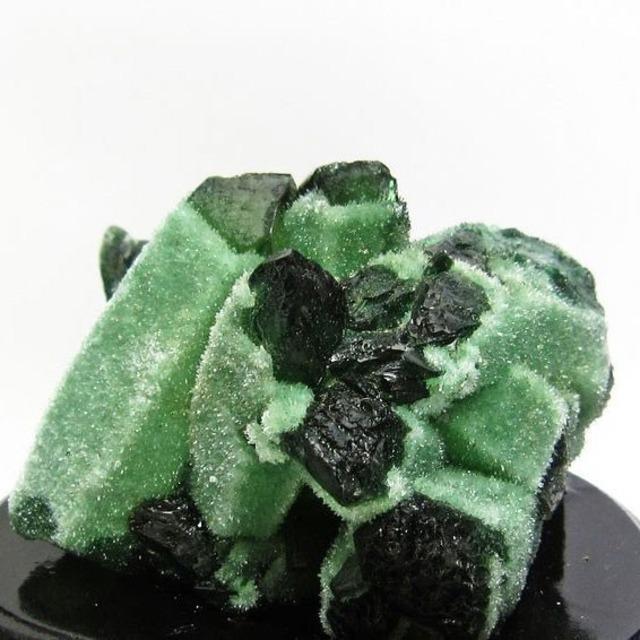 緑水晶 クラスター 送料無料 182-73