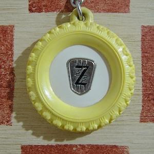 ドイツ FZ[エフ・ゼット]自動車部品製造会社フランス広告ノベルティ ブルボンキーホルダー