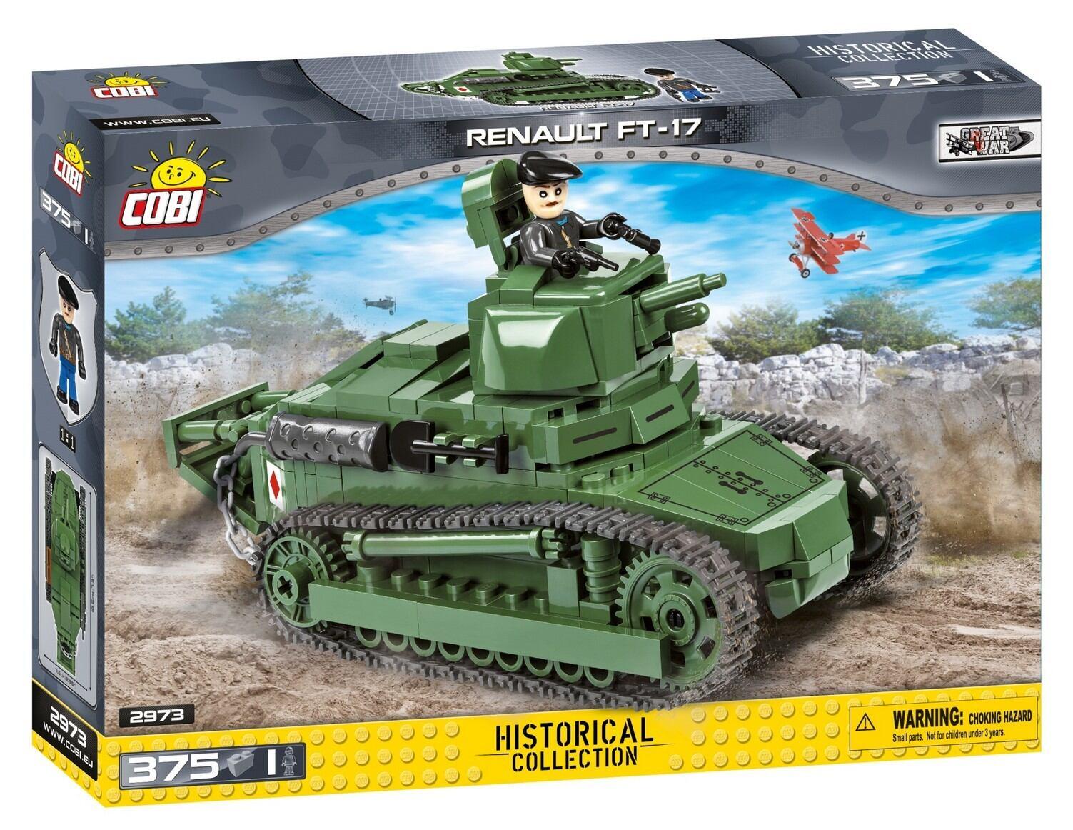COBI-2973 ルノー FT-17 軽戦車