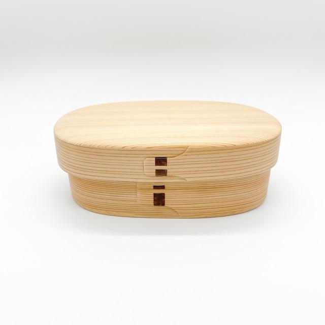 柴田慶信商店 曲げわっぱ|白木の弁当箱|小判弁当箱・小