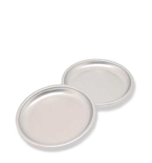松野屋 アルマイト小皿 12cm