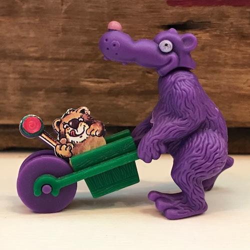 キンダーサプライズ 乳母車を押す獣 フィギュア