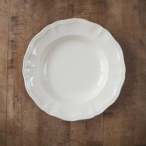 Sarreguemines(サルグミンヌ)の花リムのスープ皿