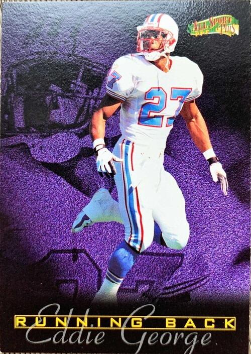 NFLカード 97SCORE EDDIE GEORGE #193 HOUSTON