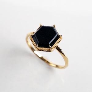 Hawkseye Ring  (Hexagon)