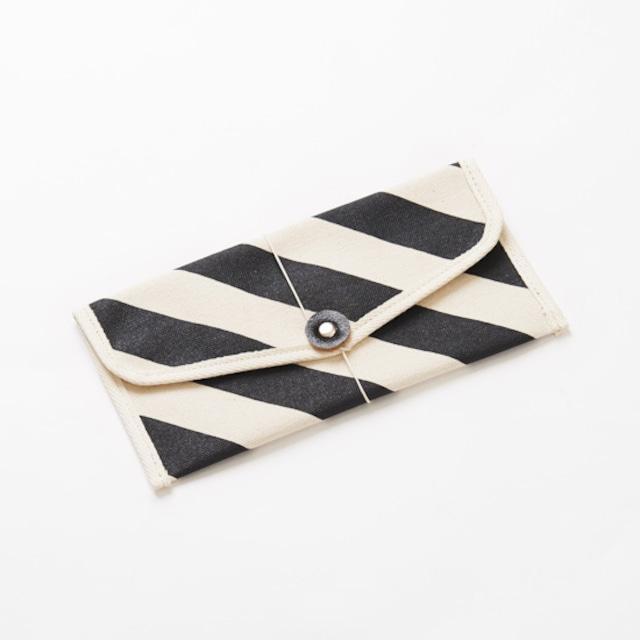 envelope × stripe  封筒型ケース / 縞
