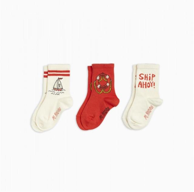 【21AW pre】minirodini( ミニロディーニ )Float 3pack  socks  靴下