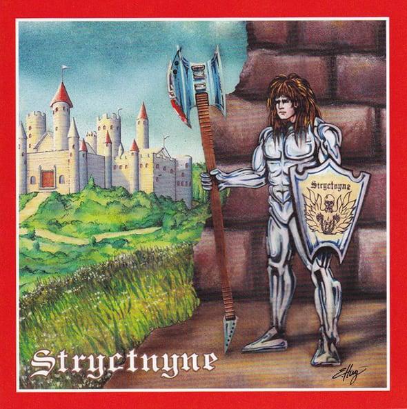 "STRYCTNYNE ""White Demo '89 - Metal Warrior '91"" (輸入盤)"