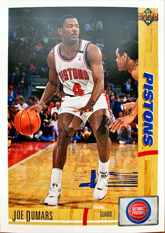 NBAカード 91-92UPPERDECK Joe Dumars #335 PISTONS
