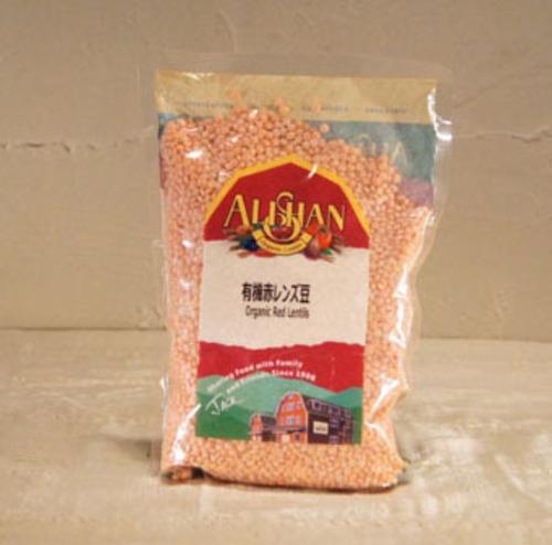【アリサン】有機 赤レンズ豆(ドライ)