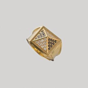 Big Studs Ring Gold