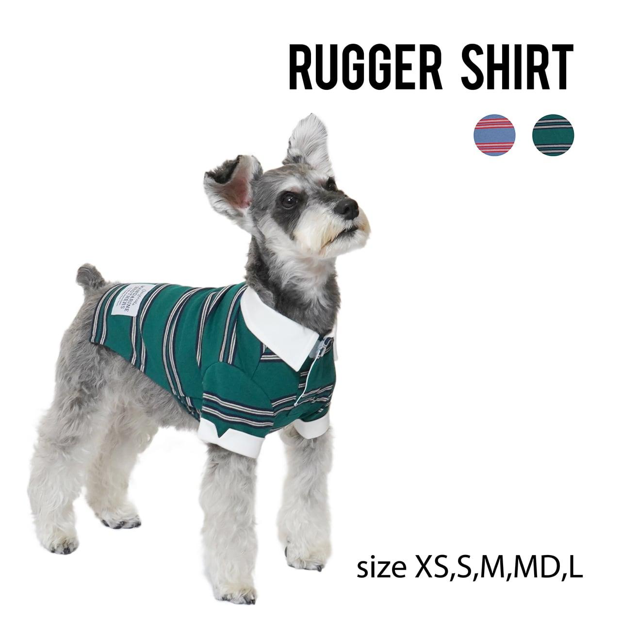 RUGGER SHIRT(XS,S,M,MD,L) ラガーシャツ