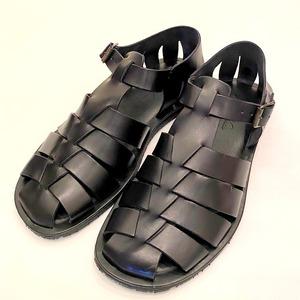 【ラスト1点】VACCHETA Leather Sandal Nero