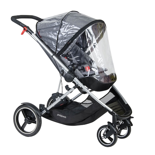 phil&teds voyager buggy storm cover (front & secound seat2個セット) フィルアンドテッズ レインカバー voyager™ 2015-2019モデル