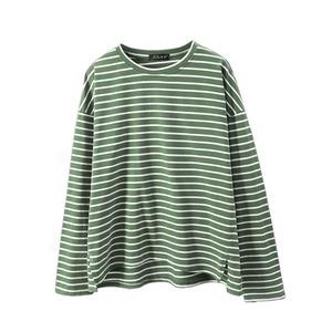 ロングボーダ ーカットソー |ロンT 長袖 Tシャツ カットソー