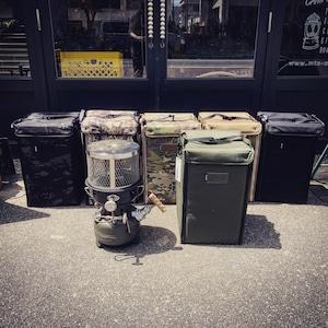 Ballistics STOVE BOX カモ柄
