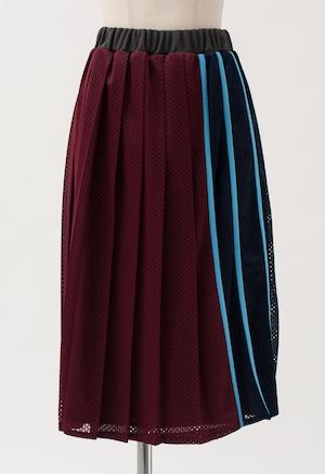 MUVEIL サイドカラー スカート