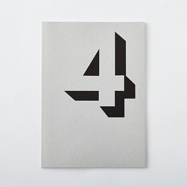 DAILY NOTE/MONOTONE 「4」