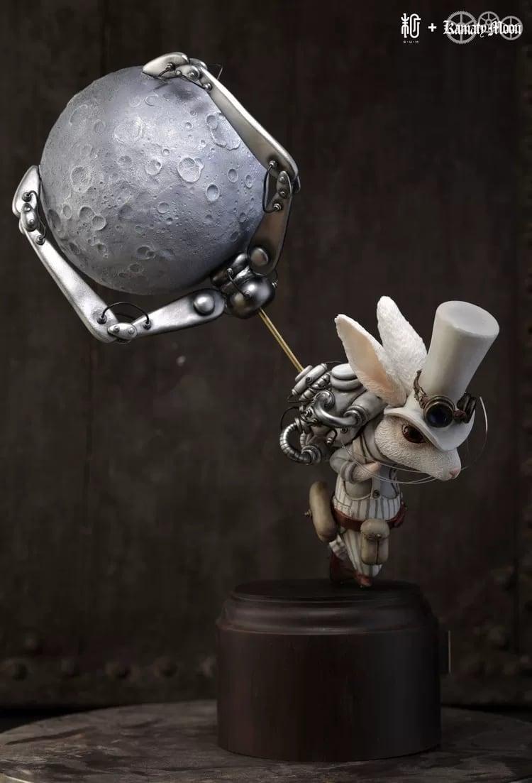 月を盗んだウサギ(白色限定版)|鎌田光司