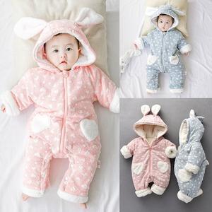 冬 ベビー服 ロンパース 子供服 キッズ 赤ちゃん服 厚手 裏ボア 裏起毛 防寒 コート 男児 女児 アウター 子ども服1501