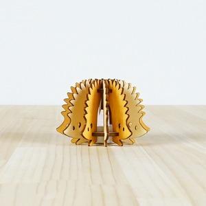 「はりねずみ」木製ミニランプ