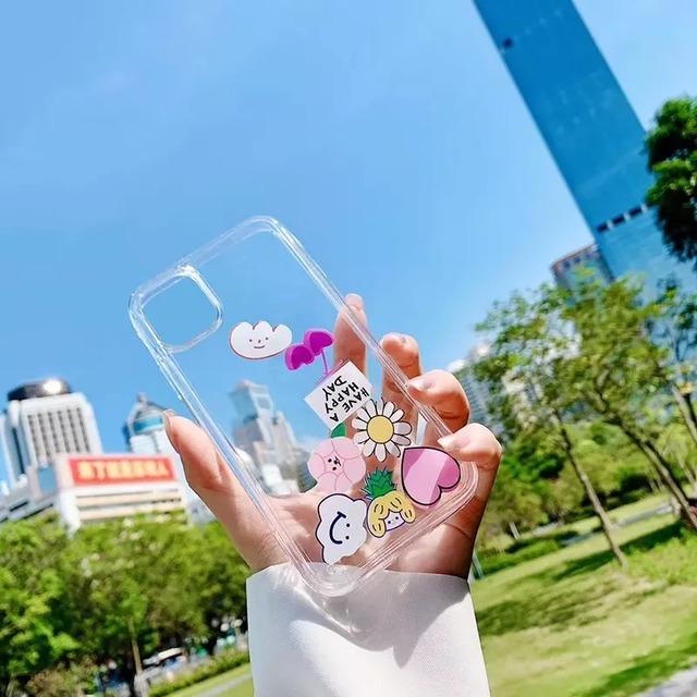 流れる♪ Cute flower iphone case