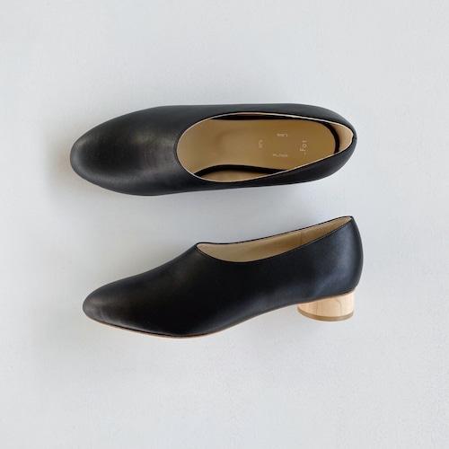 【_Fot】wood heel 25_circle 〇 /010125sc