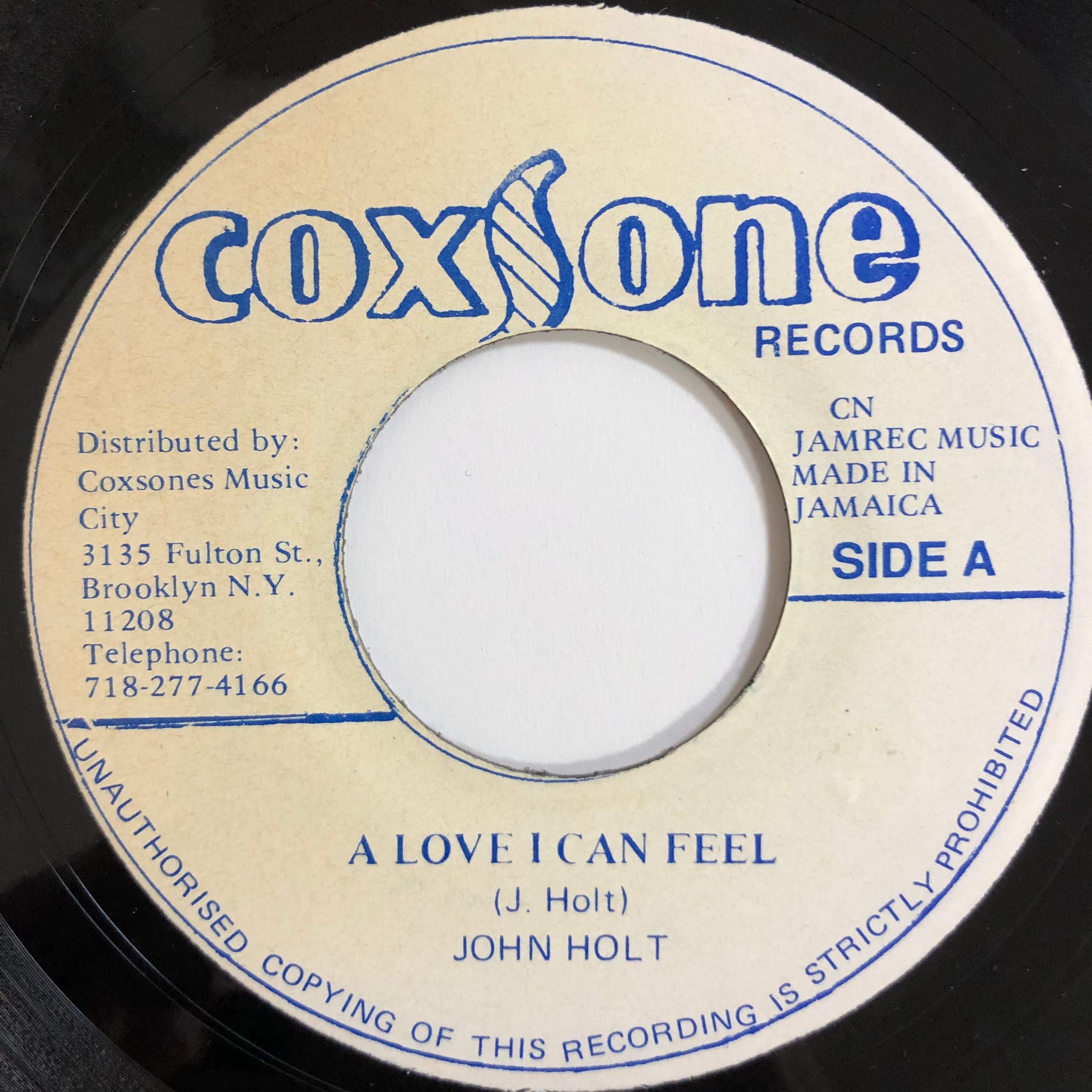 John Holt(ジョンホルト) - Love I Can Feel【7-20196】