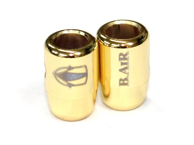 【サックス用】ブレードクリンチ・3mm紐用:メッキ加工(3色)
