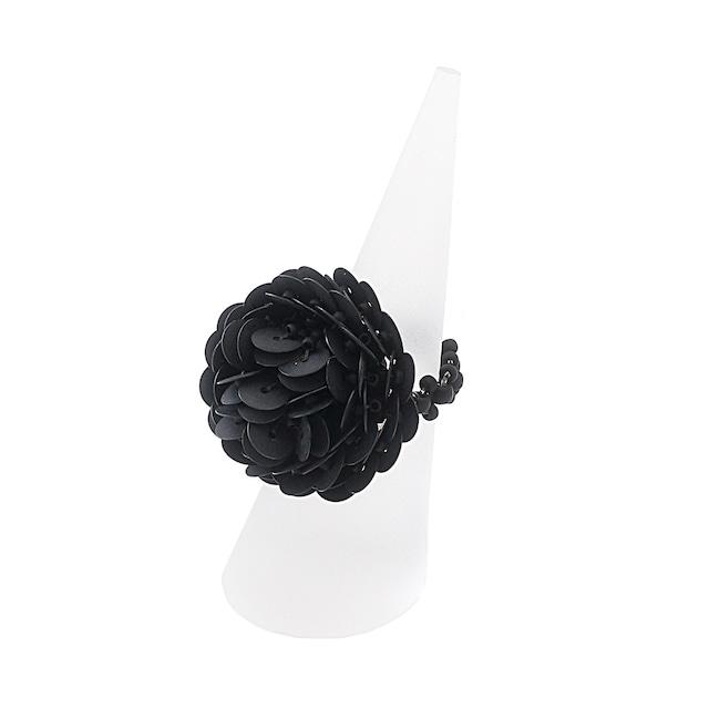 KI-KUリング/ BLACK 【ひびのこづえ】 ビーズアクセサリー